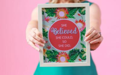 Confidence gets belief